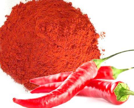 Паприка и красный молотый чили