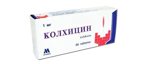 kolhicin - Народный рецепт лечения подагры