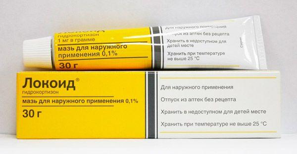 названия мази от аллергии на коже