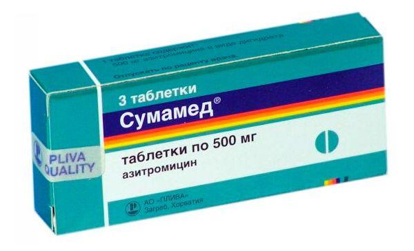 Применение Тетрациклина при лечении ангины у взрослых и детей