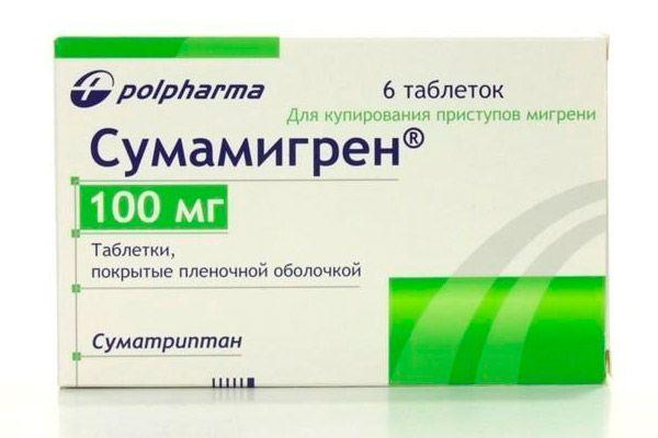 таблетки от мигрени и головной боли
